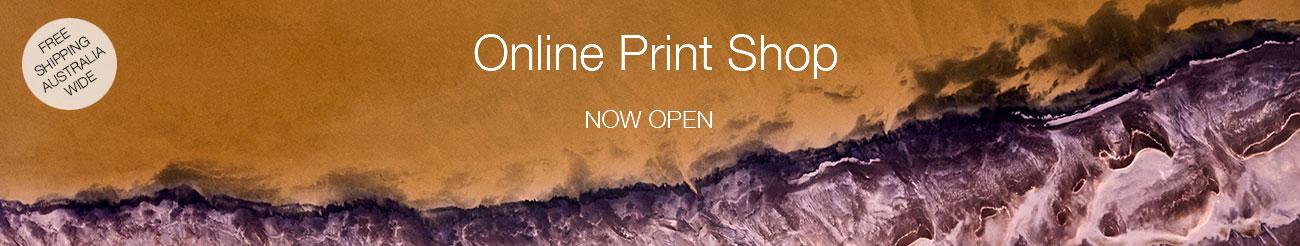 online print shop banner